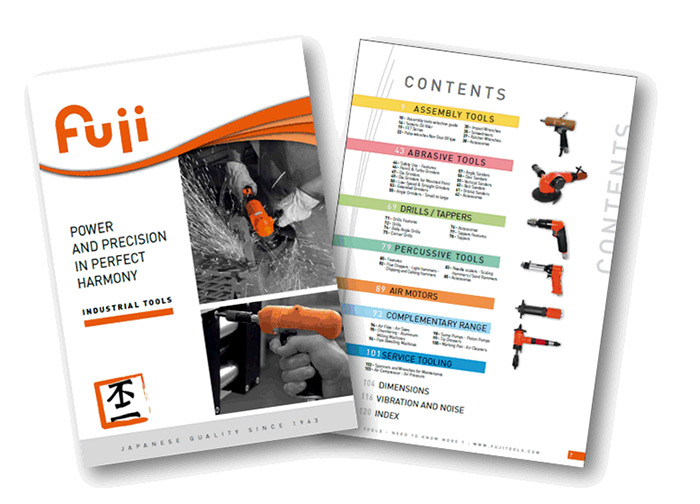 Download Today the New 2016 Fuji Industrial Tools Catalog