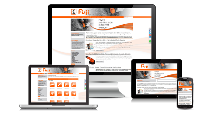 Introducing the new Fuji Air Tools website
